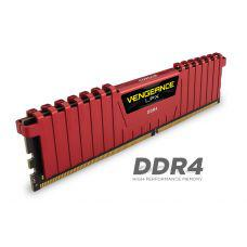 Corsair Vengeance LPX 8GB (1x8GB) DDR4-2400MHz (CL14) Red