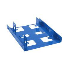"Sharkoon 2.5"" to 3.5"" Bay Extension Blue"